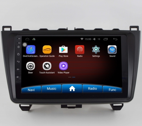 Mazda 6 2008-2012 navigatie carkit android 8 dab+