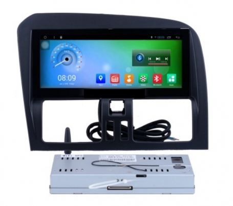 Volvo XC 60 radio navigatie 8.8 inch carkit Android 7 usb DAB+
