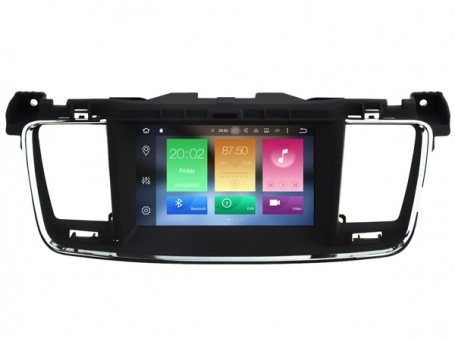 Navigatie peugeot 508 dvd carkit android 8 usb dab+