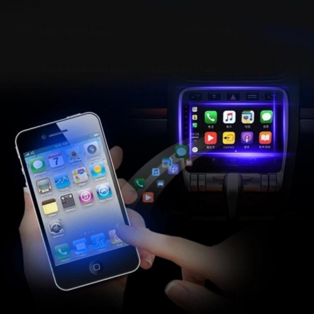 Apple carplay usb dongel iPhone voor Android navigatie systemen