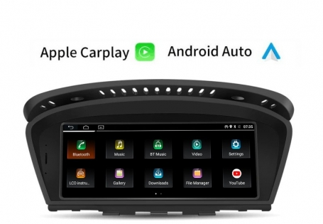 BMW E60 5 serie navigatie carkit android 10 met carplay en android auto