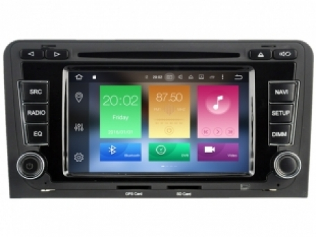 Navigatie AUDI A3 dvd carkit android  6.0.1 dvd usb dab+