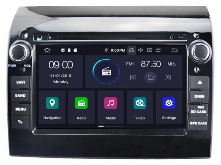 Navigatie fiat ducato 2006-2018 dvd carkit android 10 dvd usb 64gb