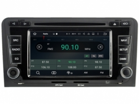 Navigatie AUDI A3 2003-2012 dvd carkit android 8 Octacore 32 GB DAB+