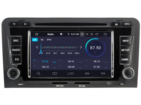 Navigatie AUDI A3 2003-2012 dvd carkit android 10 usb 64GB