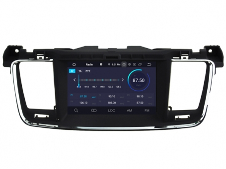 Navigatie peugeot 508 2010-2015 dvd carkit android 10 usb dab+ 64GB