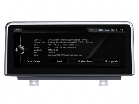BMW X1 F48 2016-2018 10,25 inch navigatie usb android wifi carplay