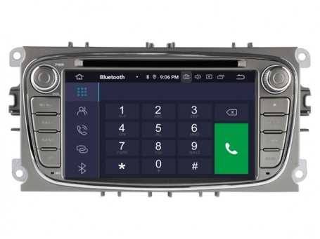 Ford Focus 2007-2012 navigatie dvd carkit android 10 usb 64GB DAB+