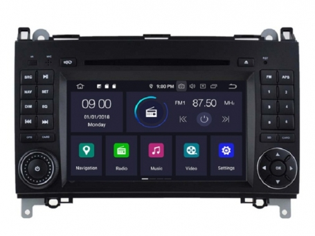 Mercedes sprinter navigatie dvd carkit android 10 usb 64gb